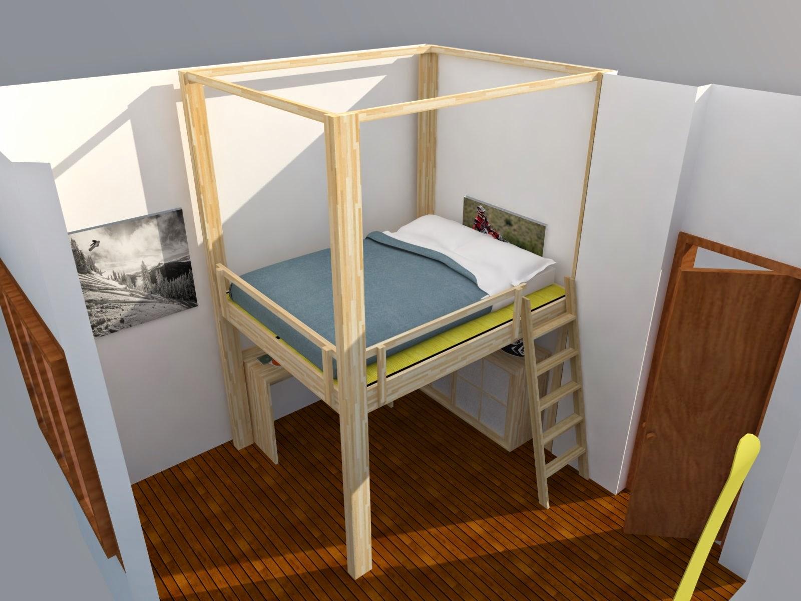 Costruire Un Letto In Legno Massello : Come costruire un letto in legno. letto pallet with come costruire