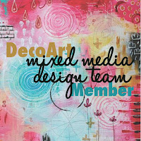I was a proud DecoArt Mixed Media DT member