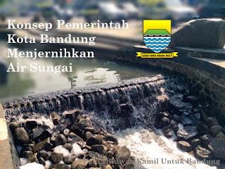 Inilah Bendungan Penjernih Air Sungai di Kota Bandung