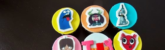Picture of Monster design cupcakes