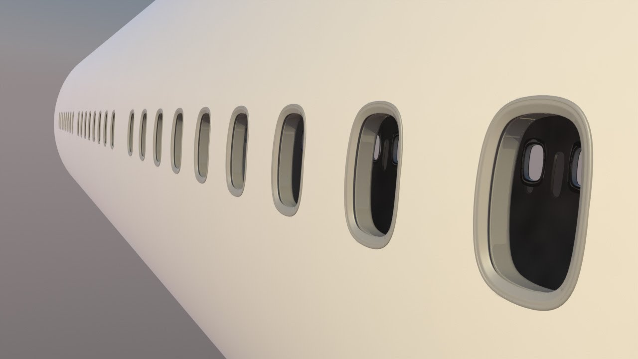Image result for Why is the window of the plane as the circle?