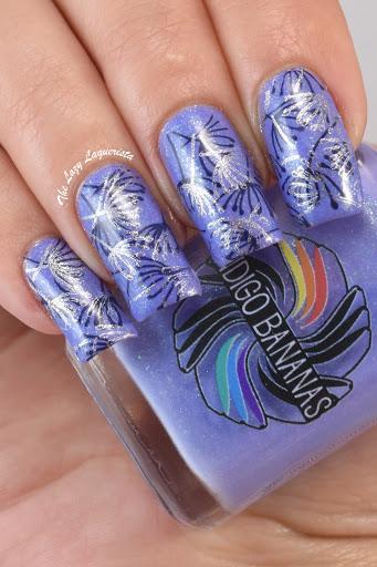 Double Nail Stamping Nail Art