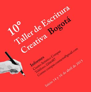 Taller de Escritura Creativa Bogotá 2015