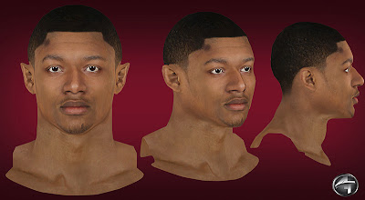 NBA 2K13 Bradley Beal Cyberface Mods
