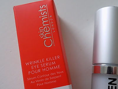 skin chemists wrinkle killer eye serum for men review