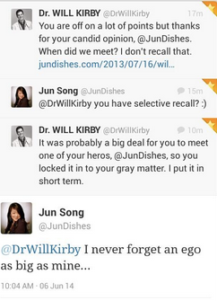 Dr. Will Kirby Twitter Fight