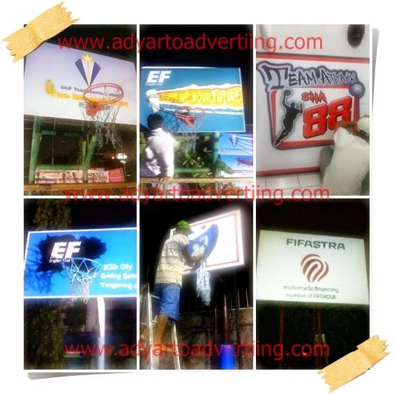 Pengecatan Lapangan dan Branding
