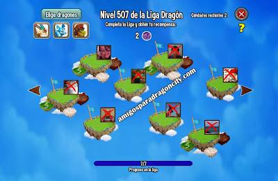 imagen del problema del mundo de combates de dragon city