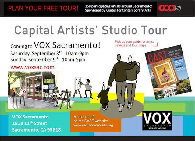 Start your Capital Artists' Studio Tour at VOX!