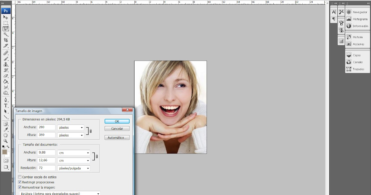 IMAGEN: Cómo aumentar el tamaño de una imagen sin perder ...
