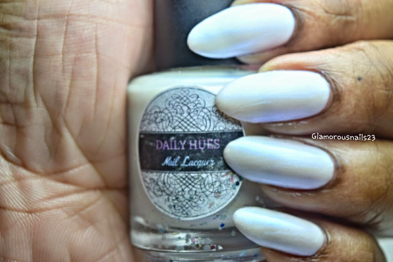 Limited Edition #2 Mother Of Pearl Swatch; Daily Hues Nail Lacquer