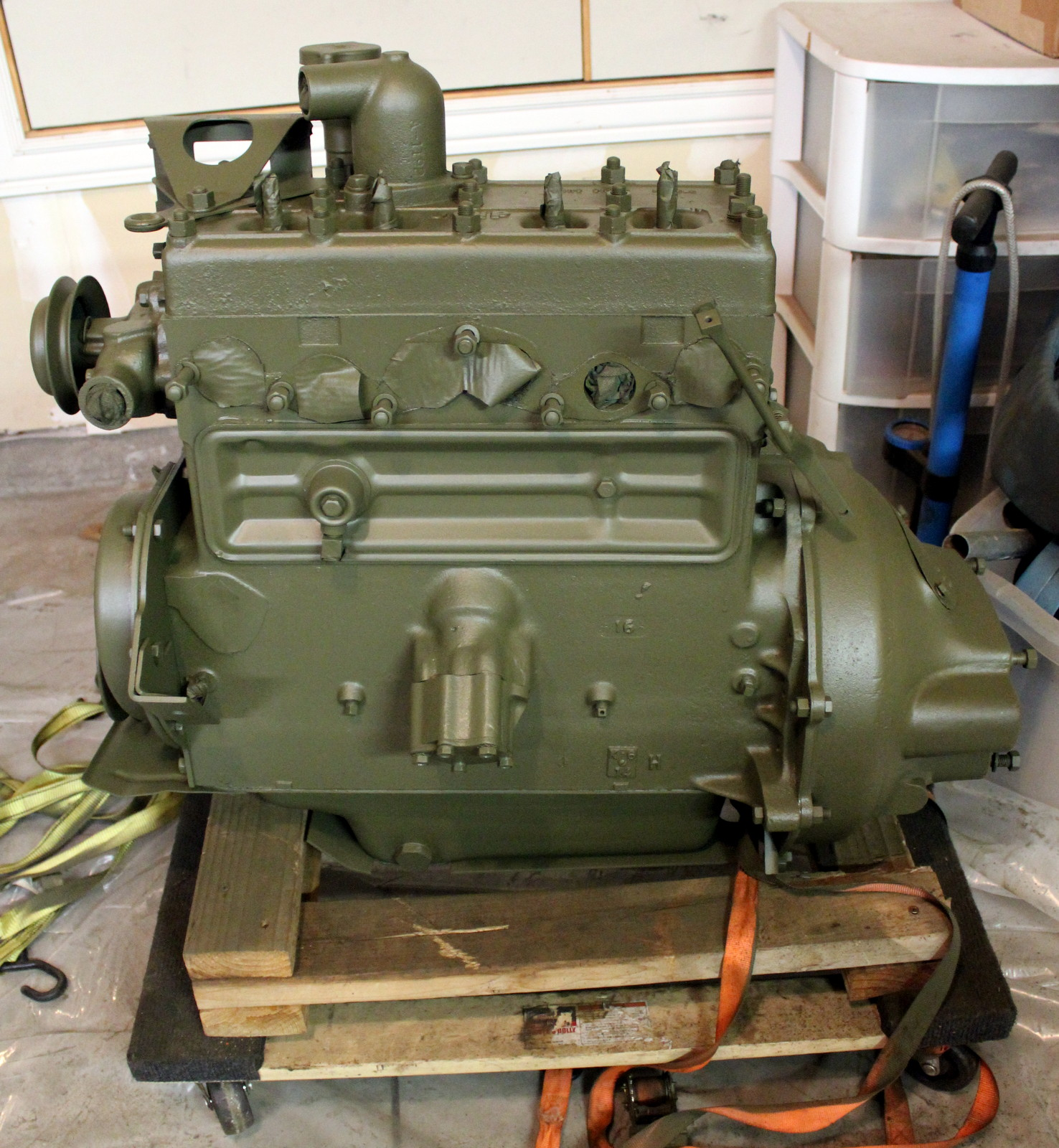 Willys Ford Go Devil Engines Gpw Mb