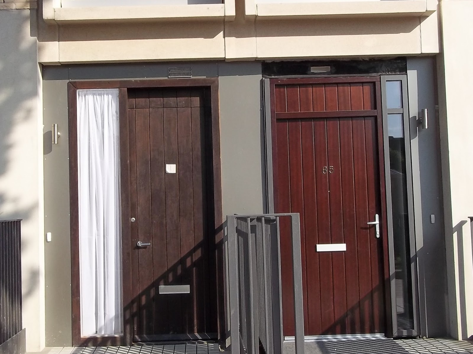 Mismatched door mystery
