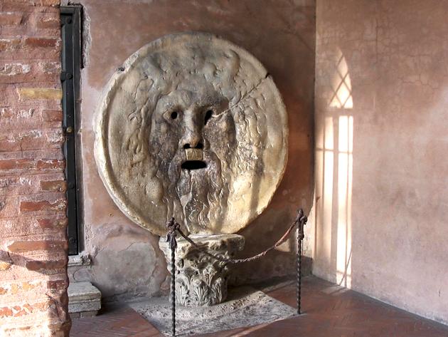 Boca da Verdade em Roma