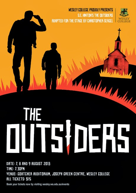 The Outsiders Drawing Book Cover ~ Will nash illustration january