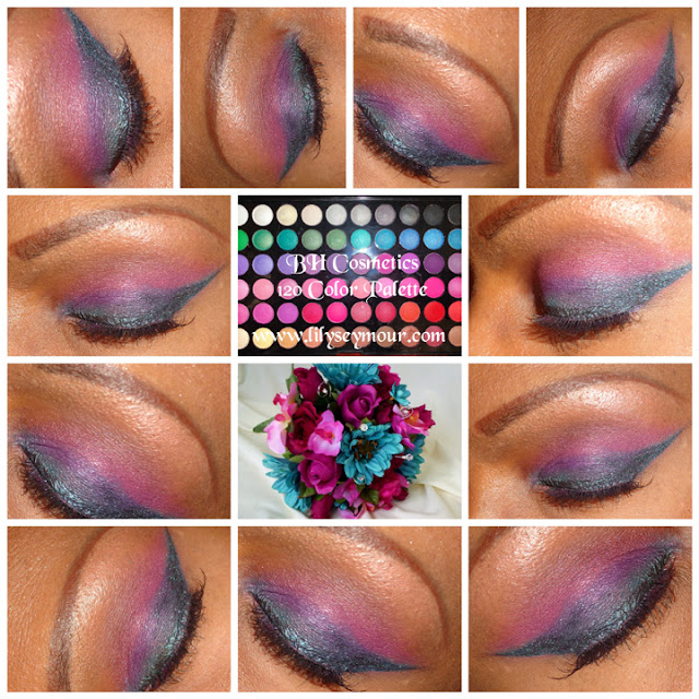 Florals Using Blues & Pinks #Inspirations