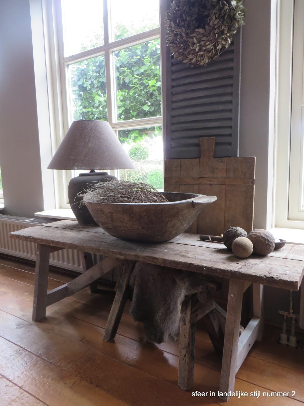 sfeer in landelijke stijl nummer 2 zonnetje in huis