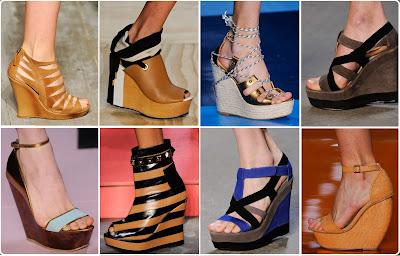 Conheça os tipos de calçados com salto anabela