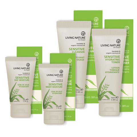 Living Nature Sensitive Skin Range Milk Allergy Lactose Intolerance