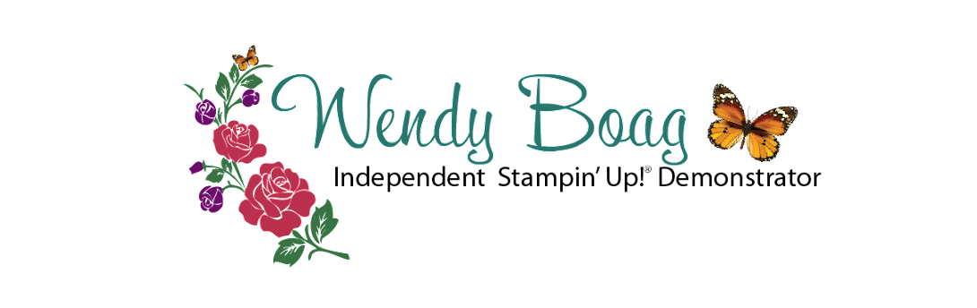 Independent Stampin' Up!® Demonstrator Wendy Boag
