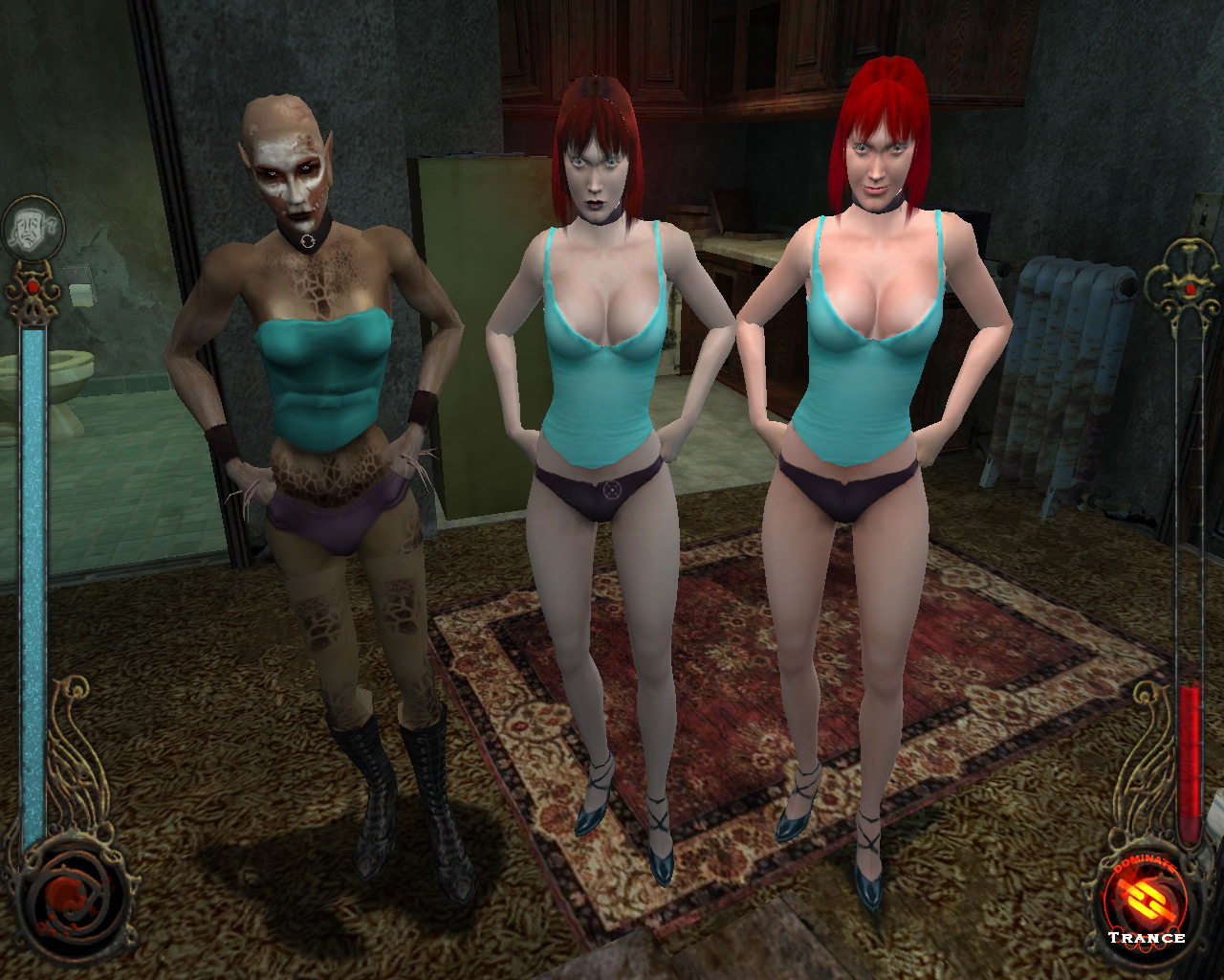 Vampire the masquerade bloolines nude mods hentia pictures