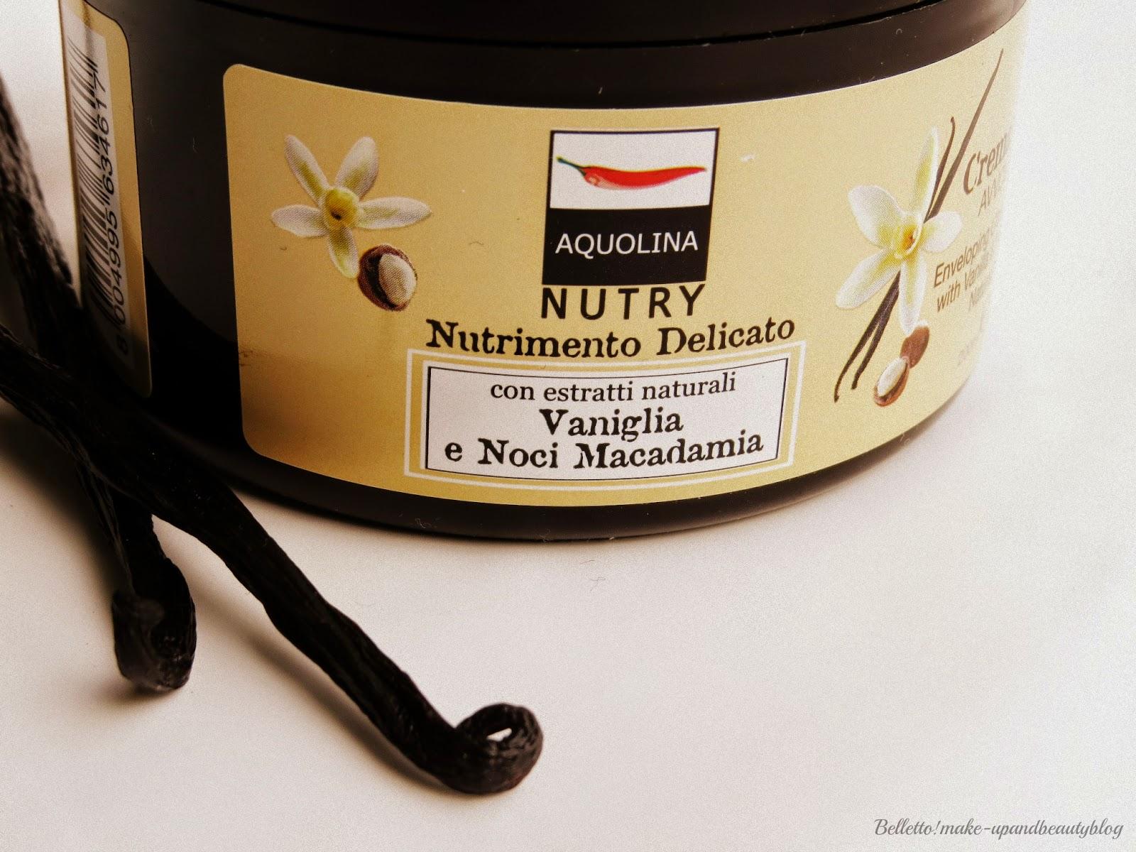 Bagno Doccia Crema Aquolina : Belletto make up and beauty aquolina nutry vaniglia e