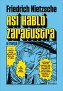 Así habló Zaratrusta, el manga,Nietzche,  Manga,Herder  tienda de comics en México distrito federal, venta de comics en México df