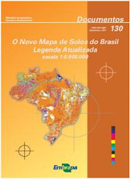 Mapa de Solos do Brasil 2011 – Embrapa