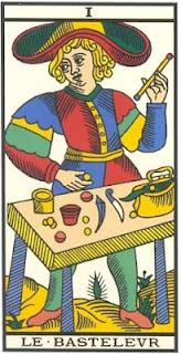 Arcano 1: O Mago, carta do tarô, tarot, baralho de marselha
