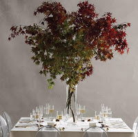 Maple Tree Wedding Centerpiece