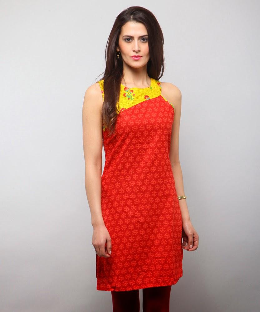 girly girl latest kurtis designs for girls 2015