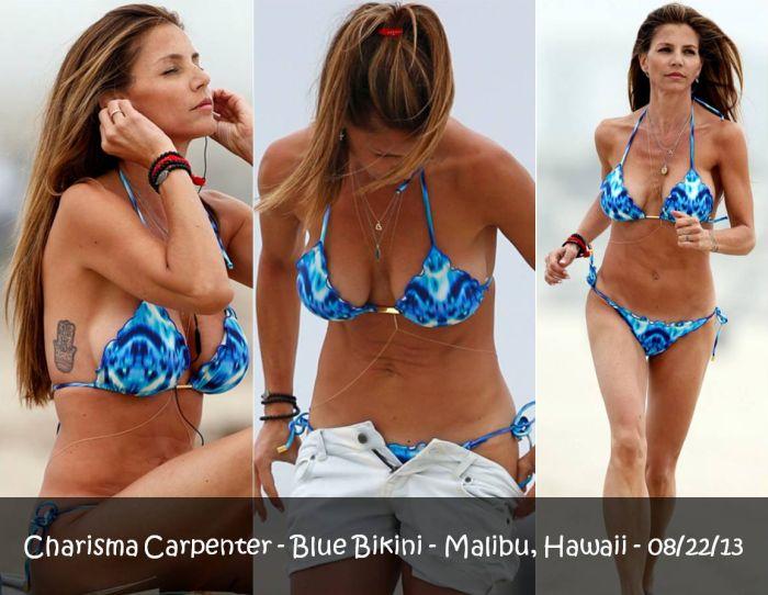 Charisma carpenter en bikini