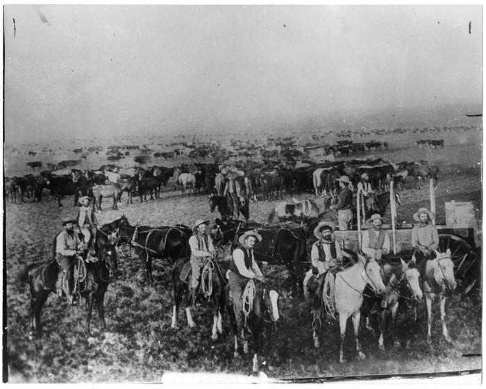 Xit ranch cowboys es cabada bunk house 1891 photography the cowboy
