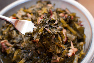 Mixed greens recipe Turnip greens and Mustard greens with smoked turkey