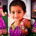 Kid in Purple Brasso Lehenga