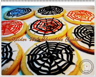 Resep Cara Membuat Spider Web Chocolate Cookies Renyah