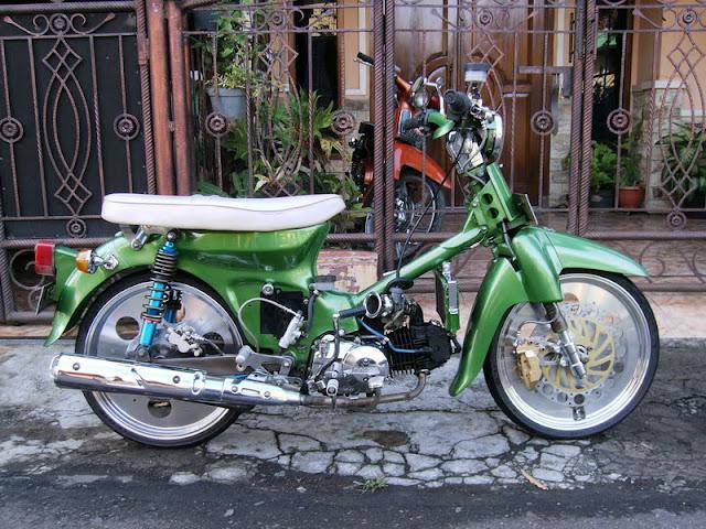 Foto Modifikasi Motor Honda 70 Ceper Terbaik dan Terbaru