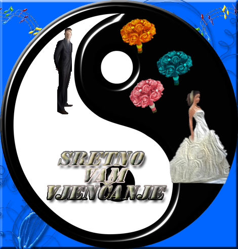 Čestitka za vjenčanje Savršeni sklad