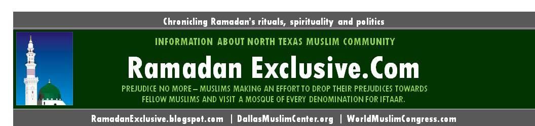 Ramadan  exclusive