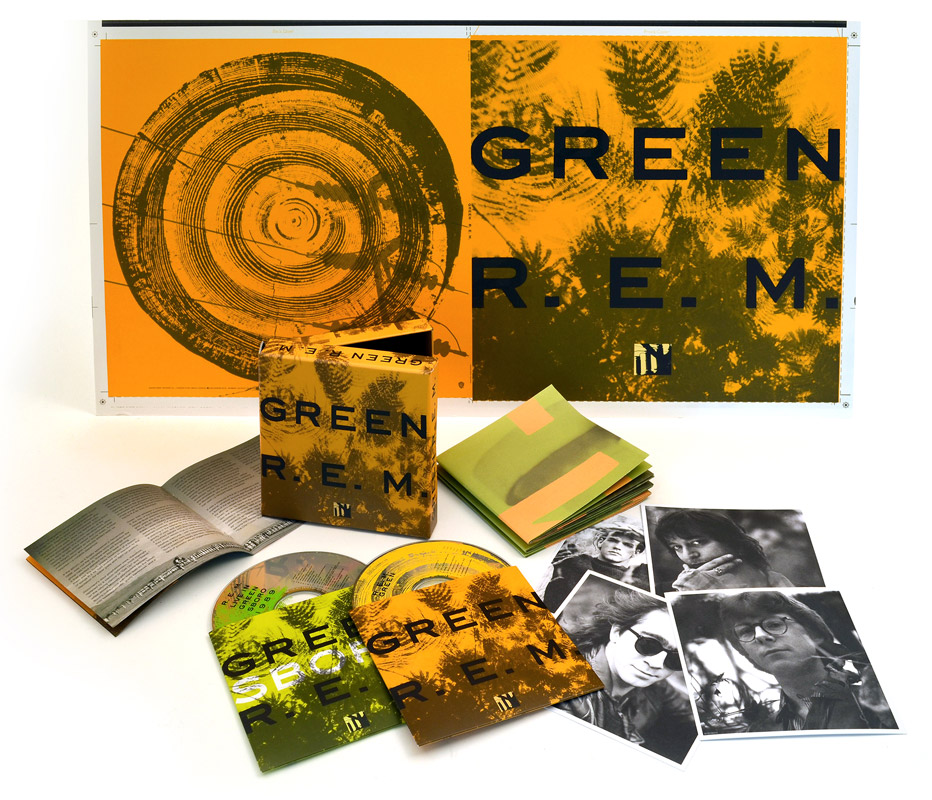 green 25th anniversary