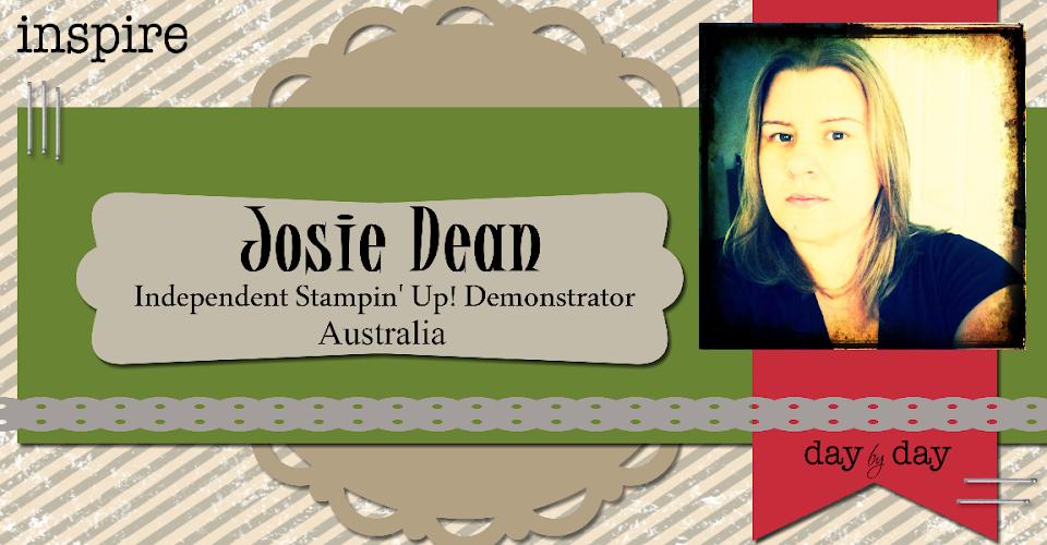Josie Dean Independent Stampin' Up! Demonstrator