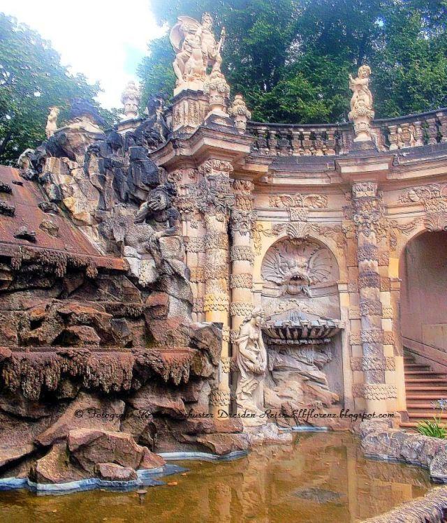 Dresdner Zwinger Brunnenanlagen