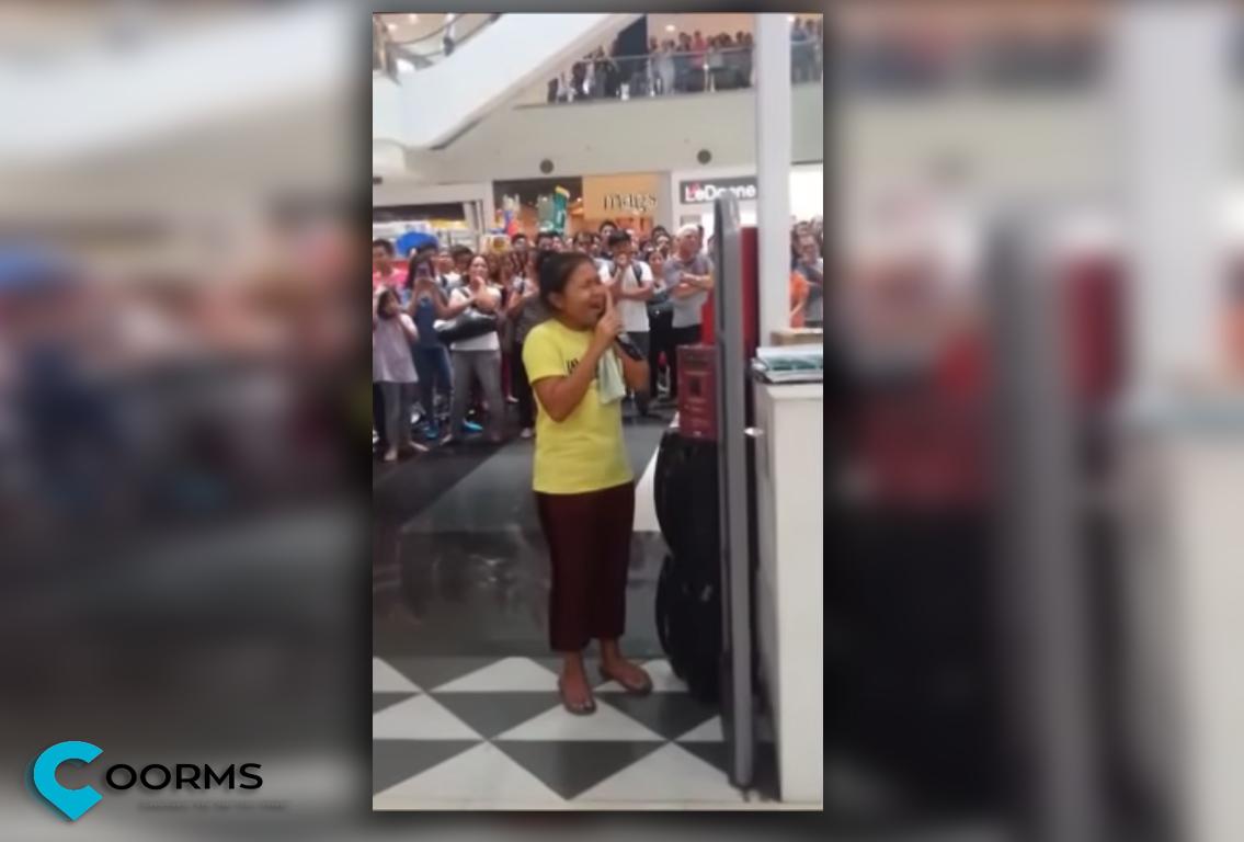 Alisah Bonaobia belts Let It Go at Robinsons Mall Manila Goes Viral