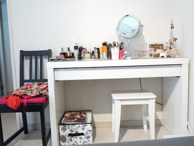 Slaapkamer Kopen Ikea : mijn eigen beauty-hoekje in onze slaapkamer ...