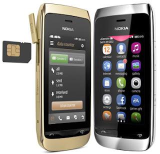 Nokia Asha 309,Nokia,Harga Terbaru Nokia Asha 309