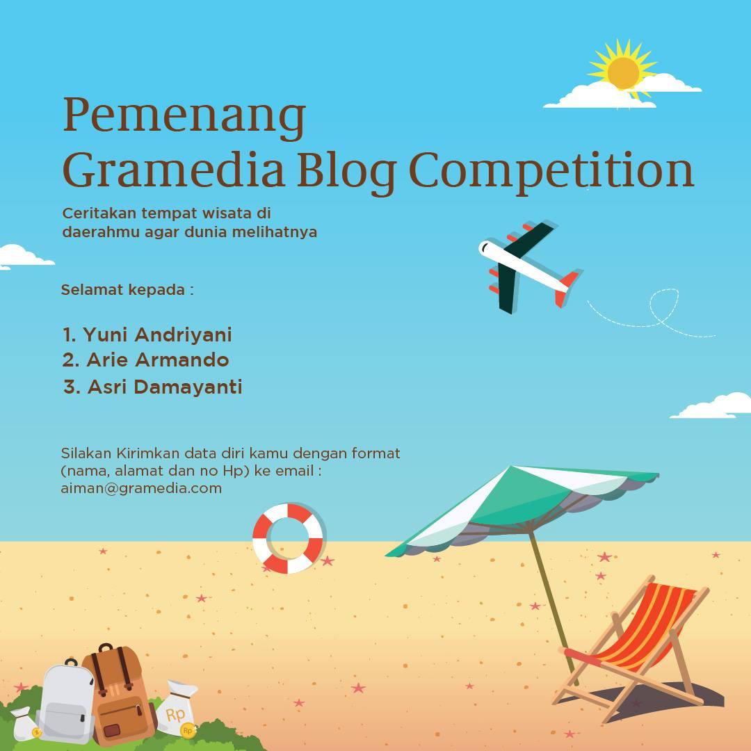 Pemenang Lomba BLog Gramedia