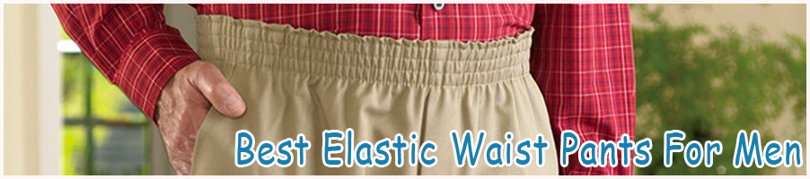 Find best full elastic waist pants for elderly men - Khaki ...