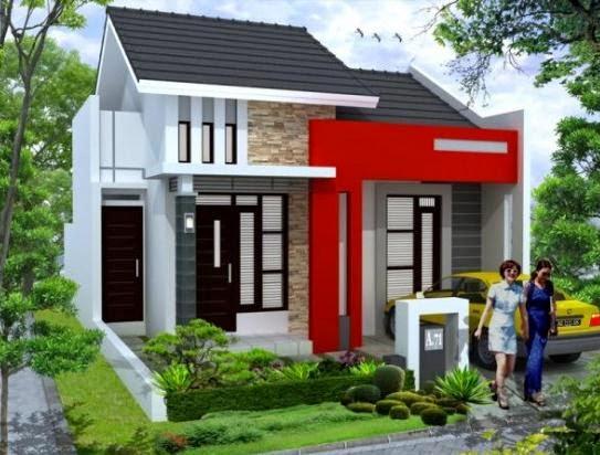 Desain Rumah Minimalis 1 Are