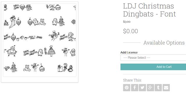 http://www.letteringdelights.com/lettering/fonts/jillustration/ldj-christmas-dingbats-font-p5778c1c3?tracking=d0754212611c22b8
