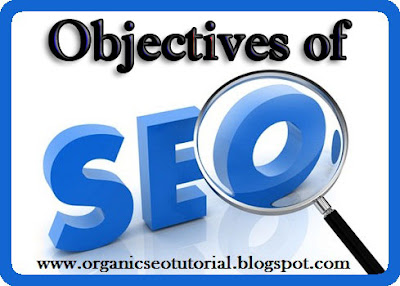 organic seo tutorial objectives of seo